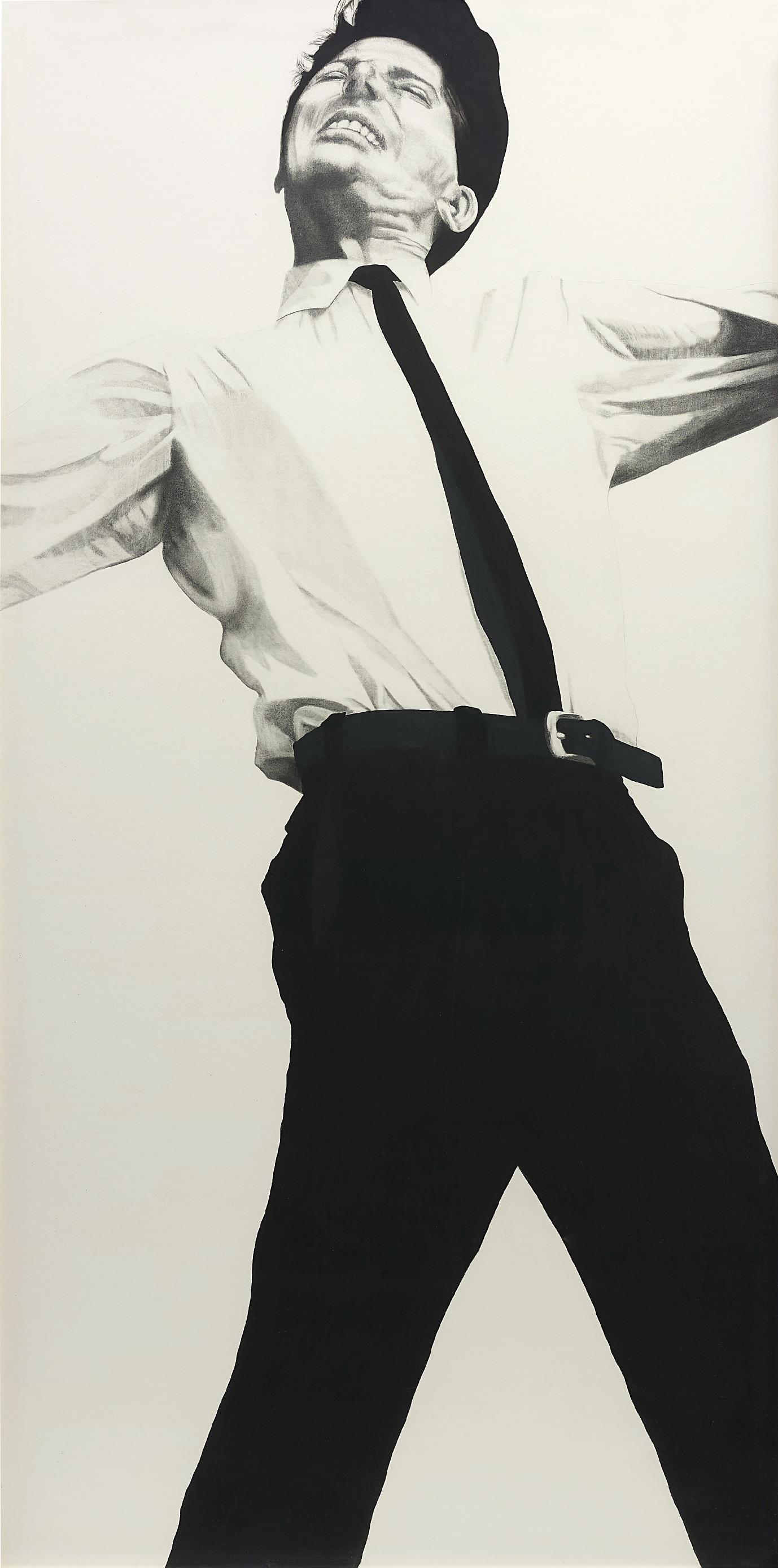 Robert Longo-Untitled (Jules)-1981