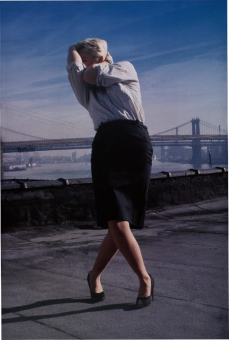 Robert Longo-Untitled from Men In The Cities (Cindy)-1998