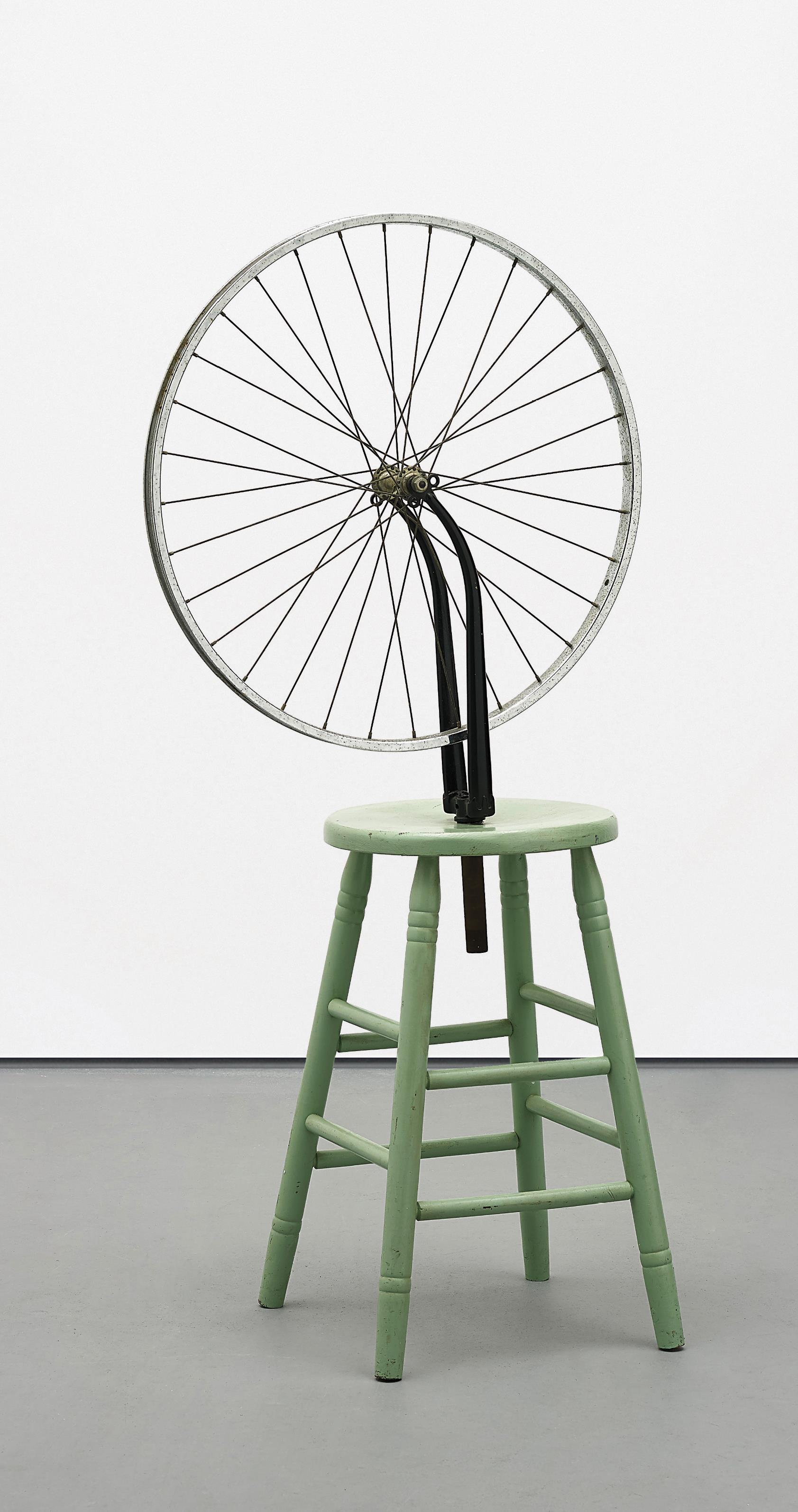 Richard Pettibone-Marcel Duchamp, 'Bicycle Wheel,' 1913 Prototype-1965