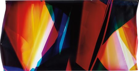 Walead Beshty-Six Color Curl (CMMYYC: Irvine, California, July 17th, Fuji Crystal Archive Type C)-2008