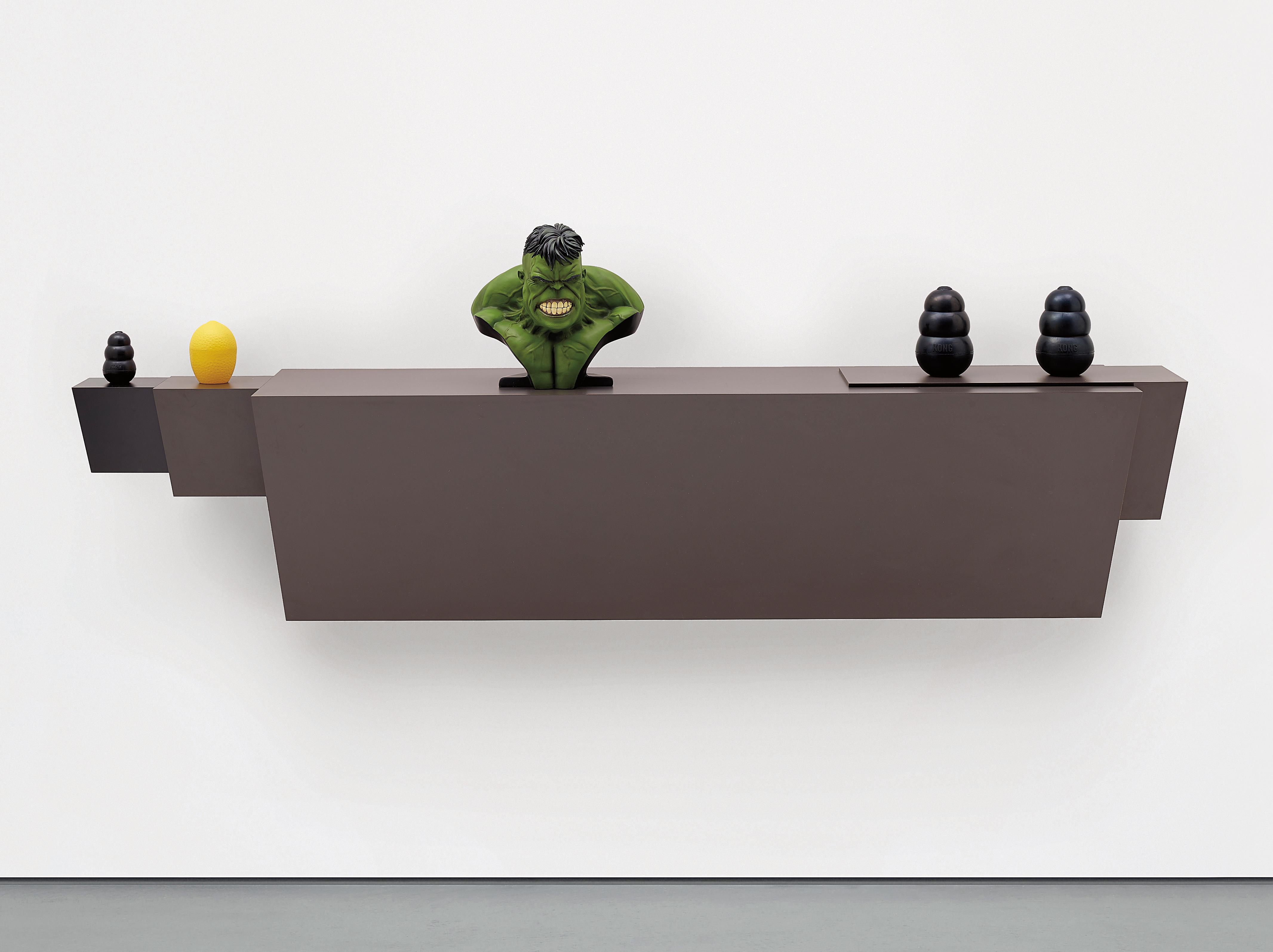 Haim Steinbach-Untitled (Hulk)-2009