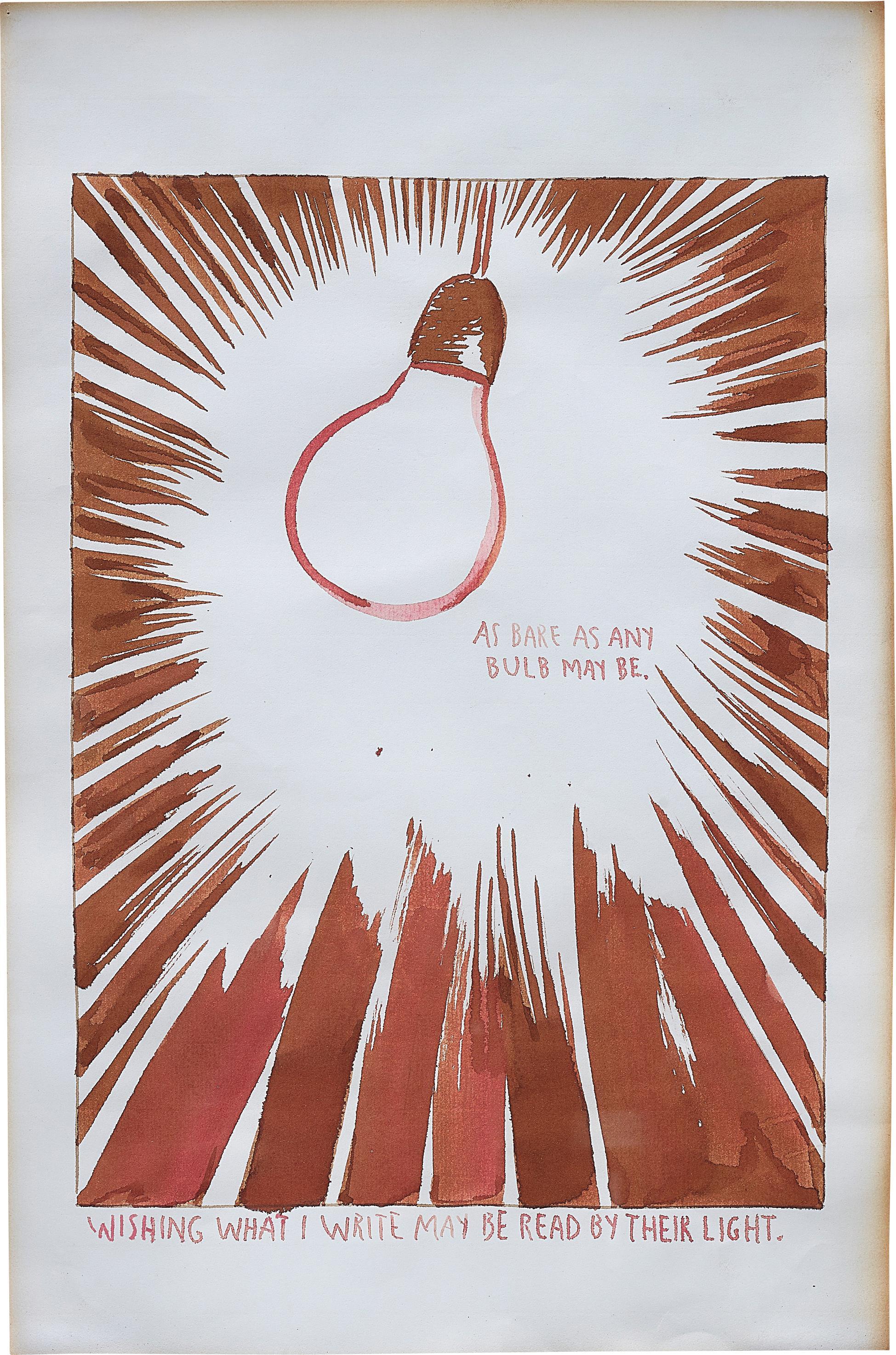 Raymond Pettibon-Bulb-1990