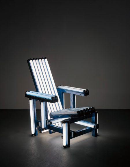 Ivan Navarro-Blue Electric Chair-2004