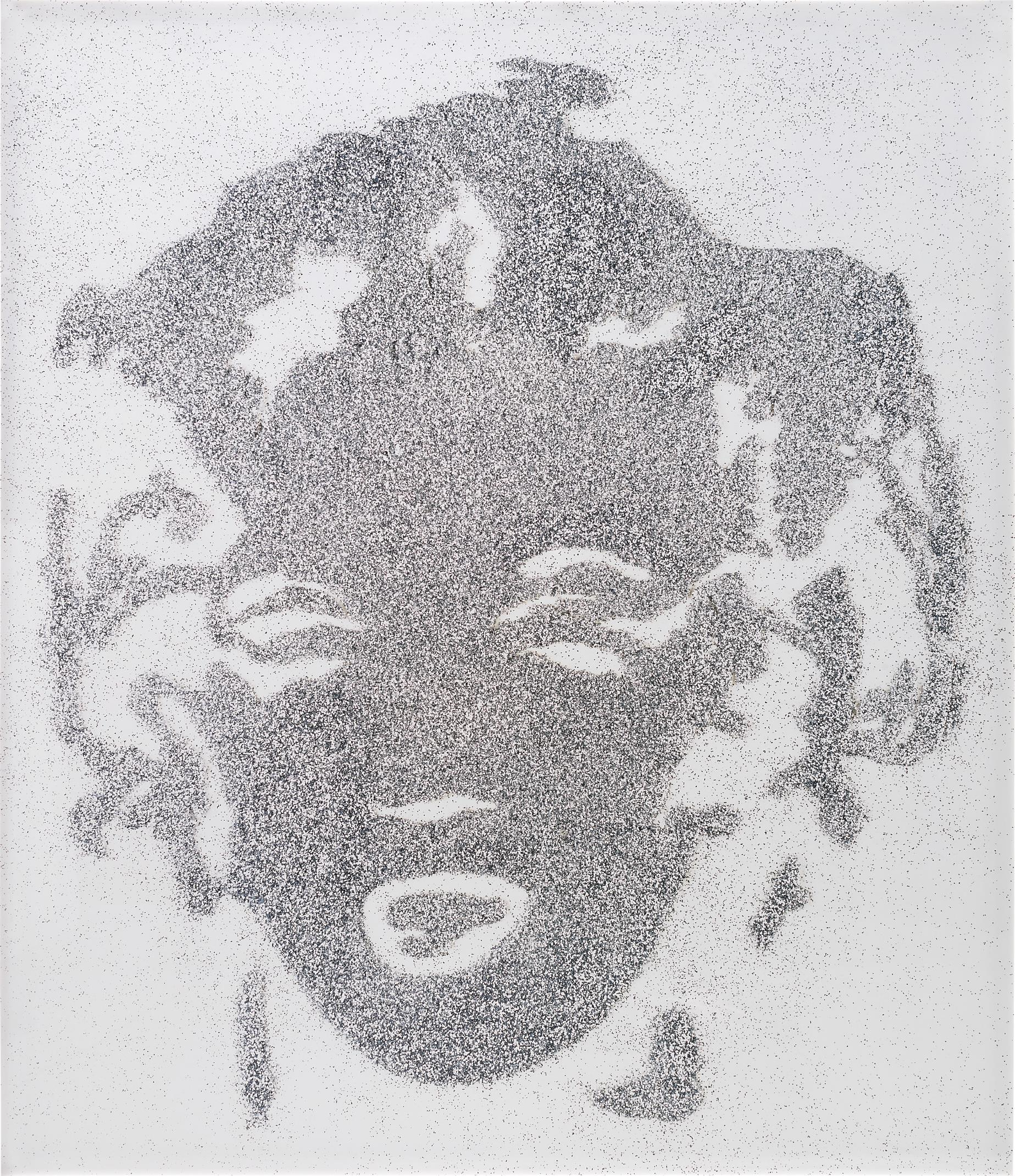 Vik Muniz-Reversal Grey Marilyn-2003