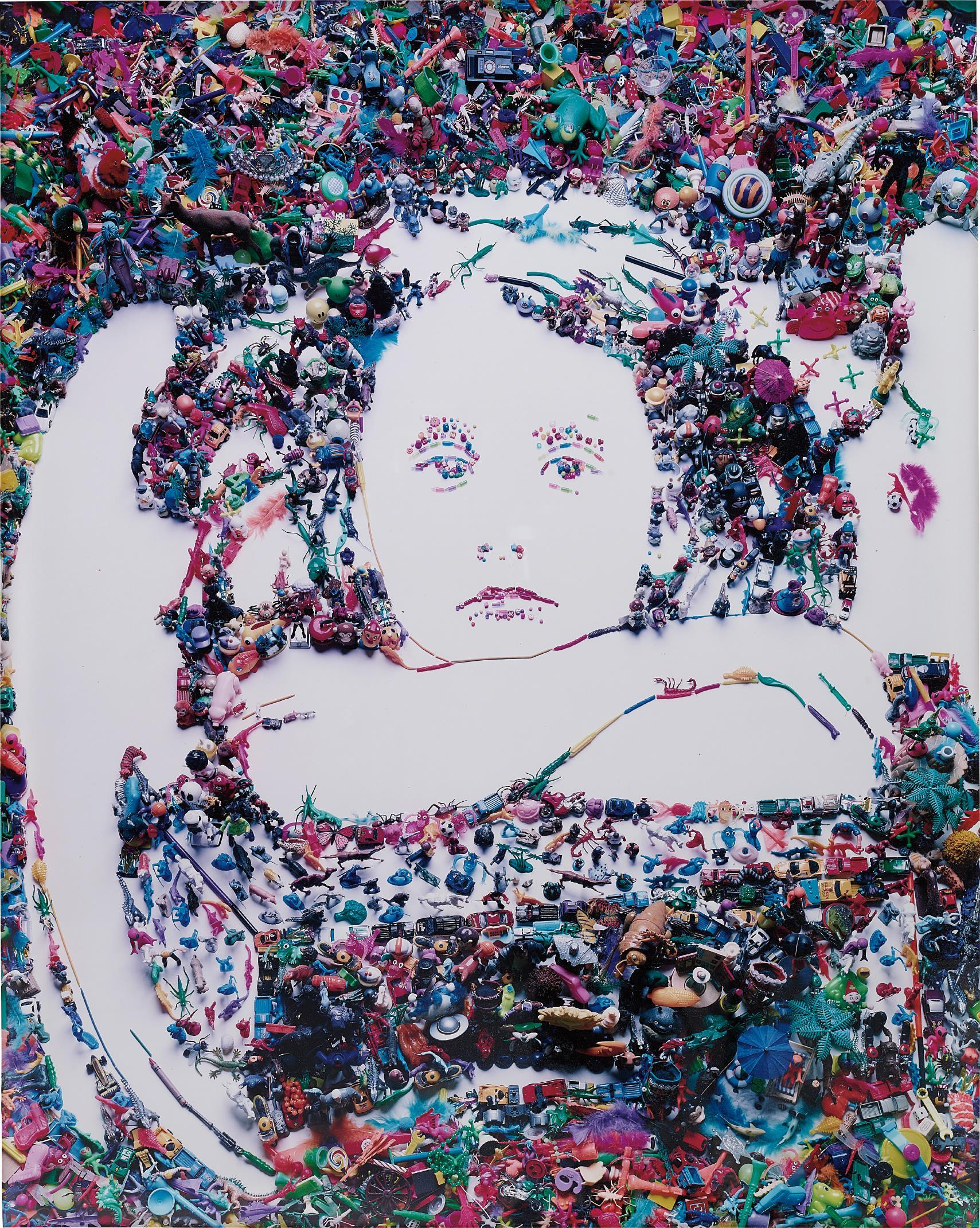Vik Muniz-I Wait After Julia Margaret Cameron-2004