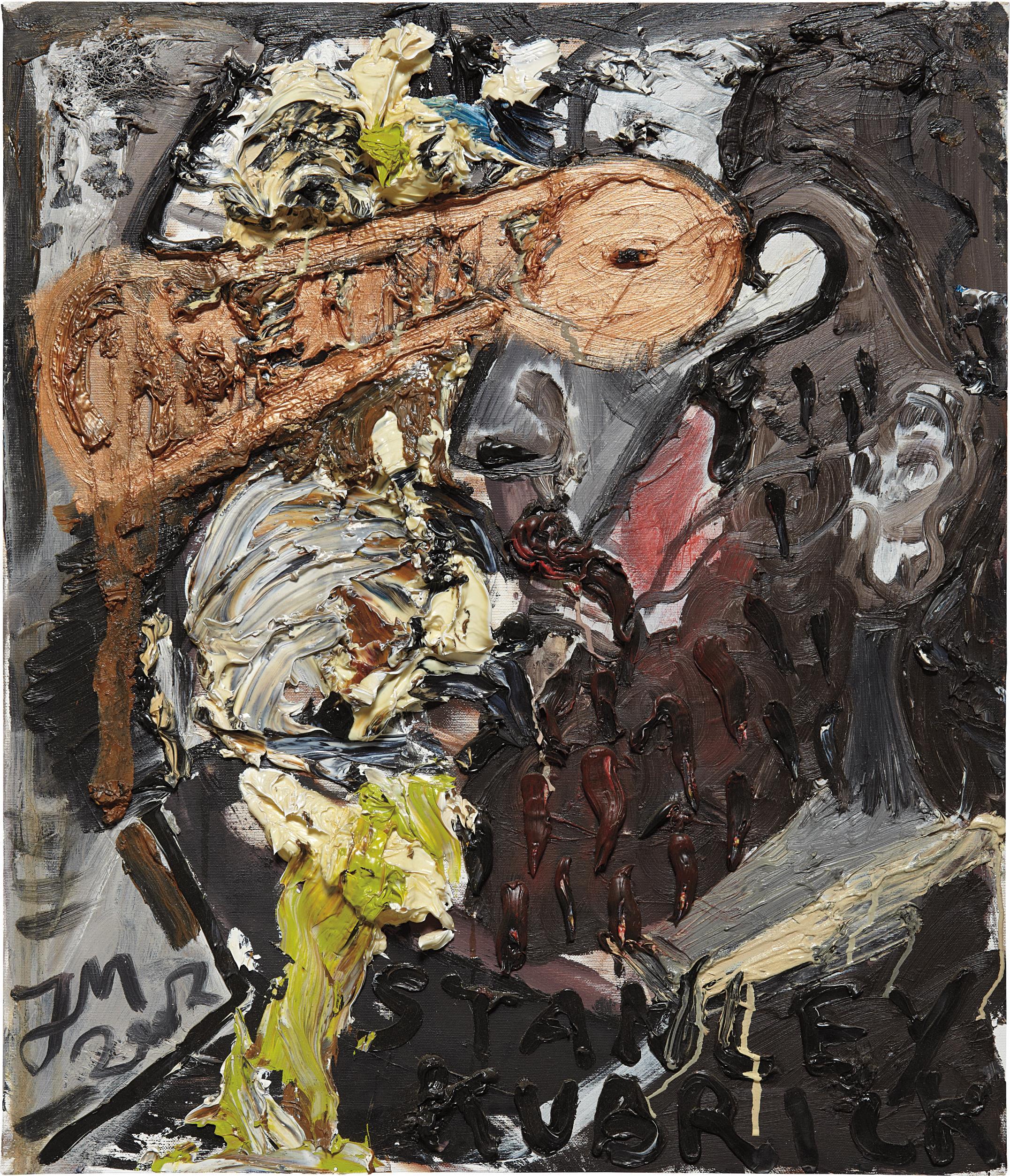 Jonathan Meese-Dr. Kubroz (Sankt Maria Pfarr)-2002