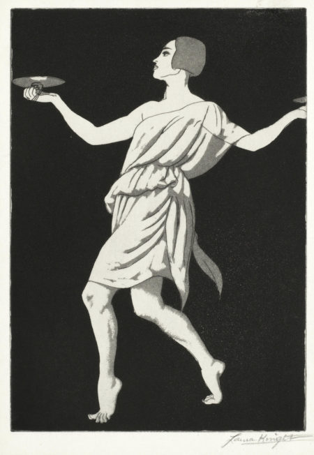 Dame Laura Knight-Grecian Dancer No.1 (Pavlova)-1923