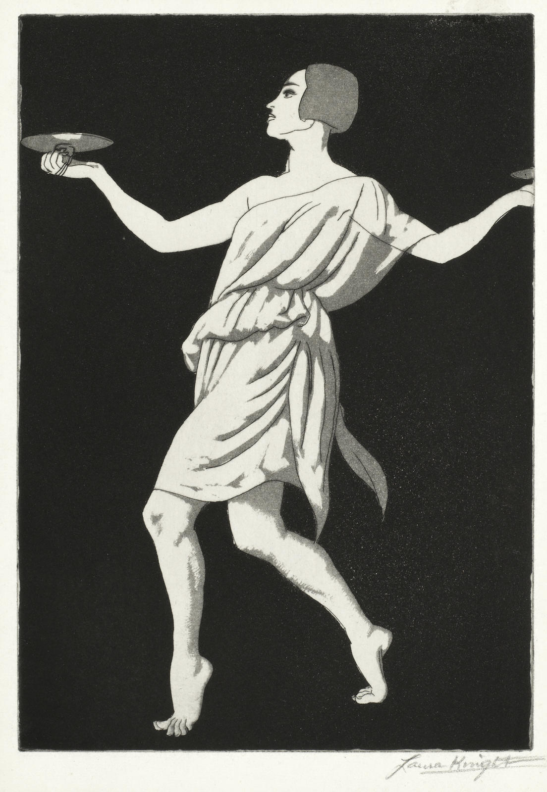 Dame Laura Knight-Grecian Dancer No.1 (Pavlova)-1923