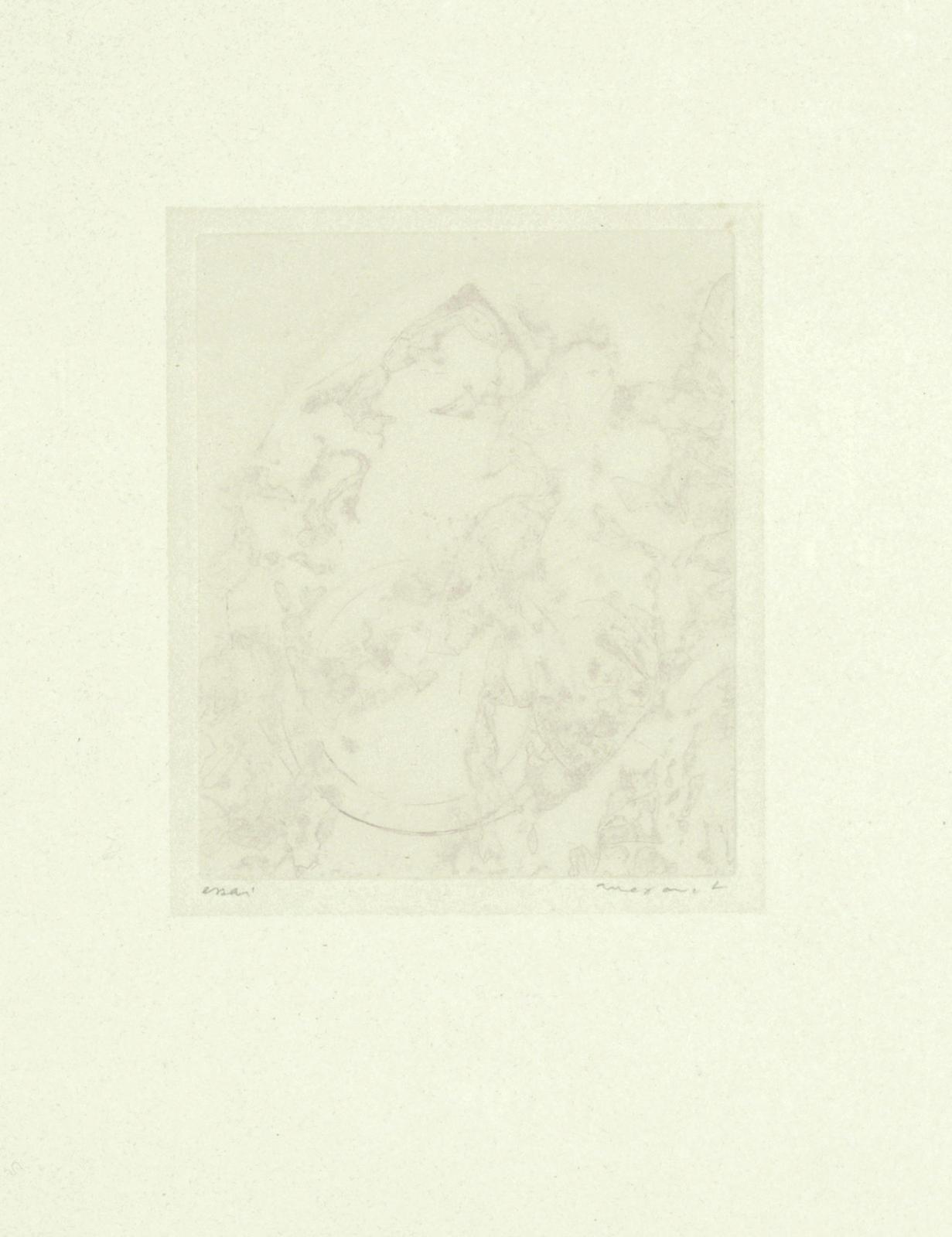 Max Ernst-Fete de Paix, from 'Poems'-1961