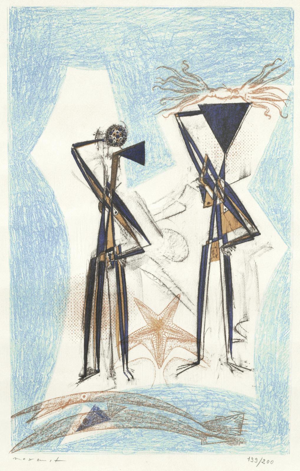 Max Ernst-Etoile de Mer-1950