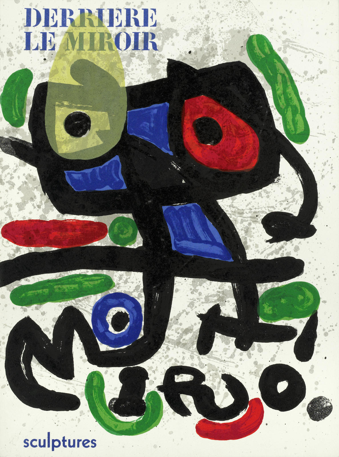 Joan Miro-Derriere Le Miroir No. 29-30, 117, 164-165, 169, 186, 193-194, 203 & 231; L'Ete, from 'Verve Vol. 1, No.3' (Dupin 1310)-1978