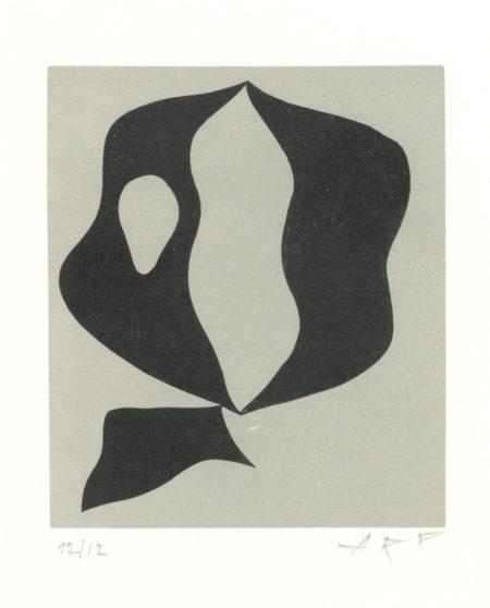 Jean Arp-Voilier III, from 'Le Voilier dans la Foret'-1957