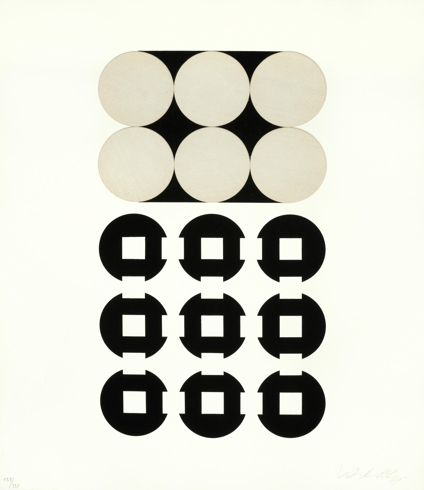 Victor Vasarely-Procion; Pleione-1959
