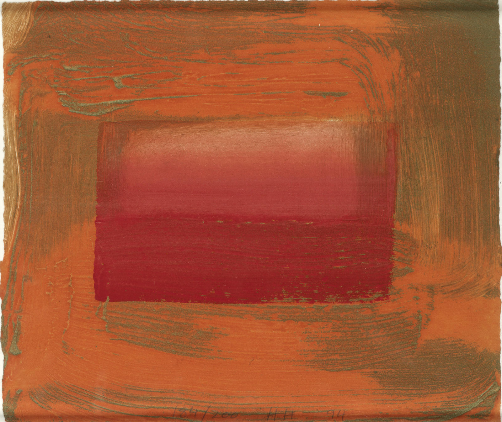 Howard Hodgkin-Red Print-1994