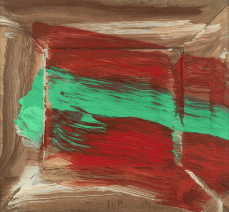 Howard Hodgkin-Red Flowers-2015