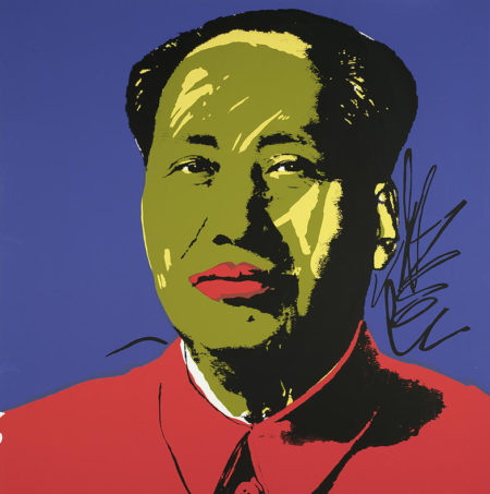 Andy Warhol-After Andy Warhol - Mao-
