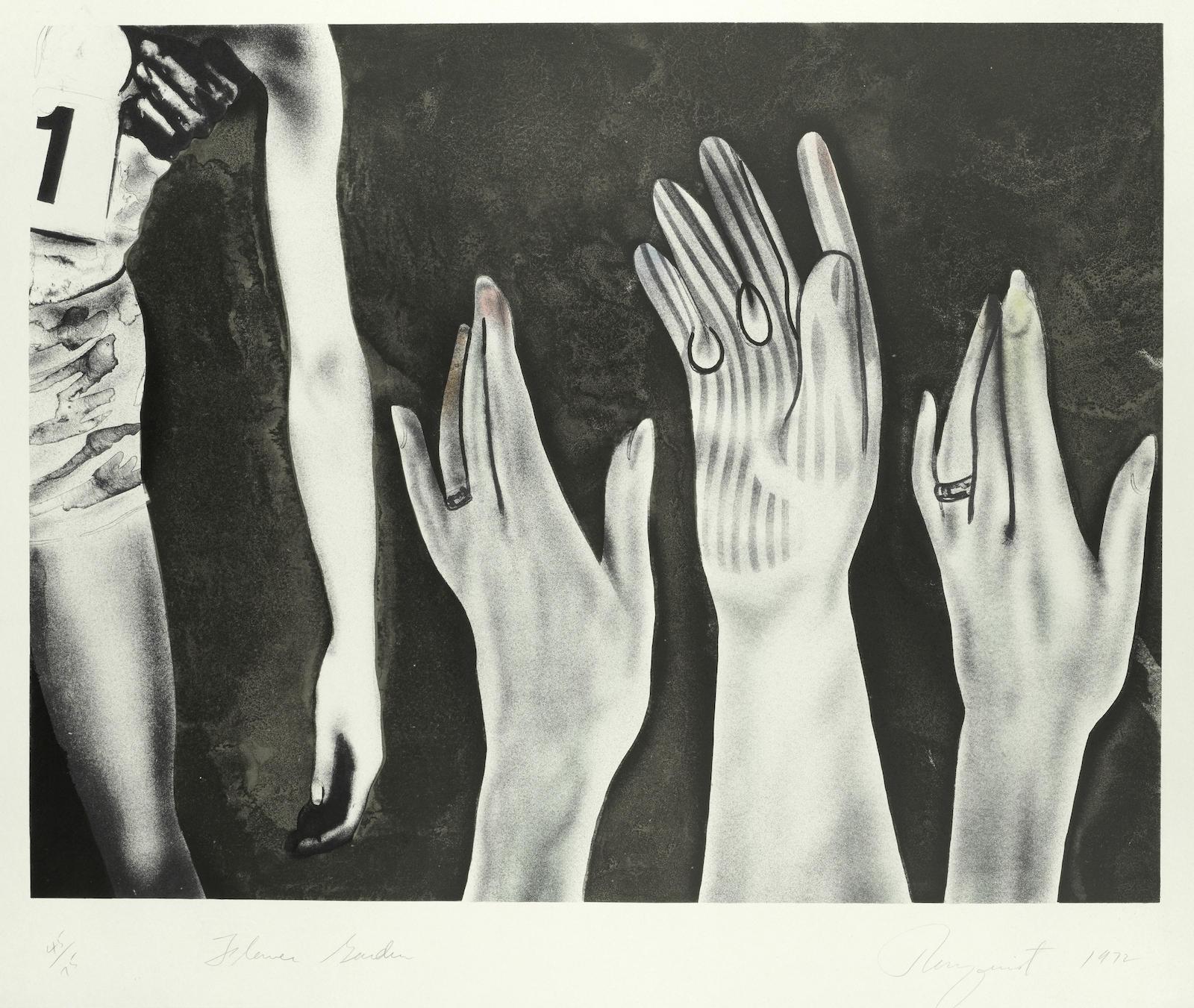 James Rosenquist-Flower Garden-1972