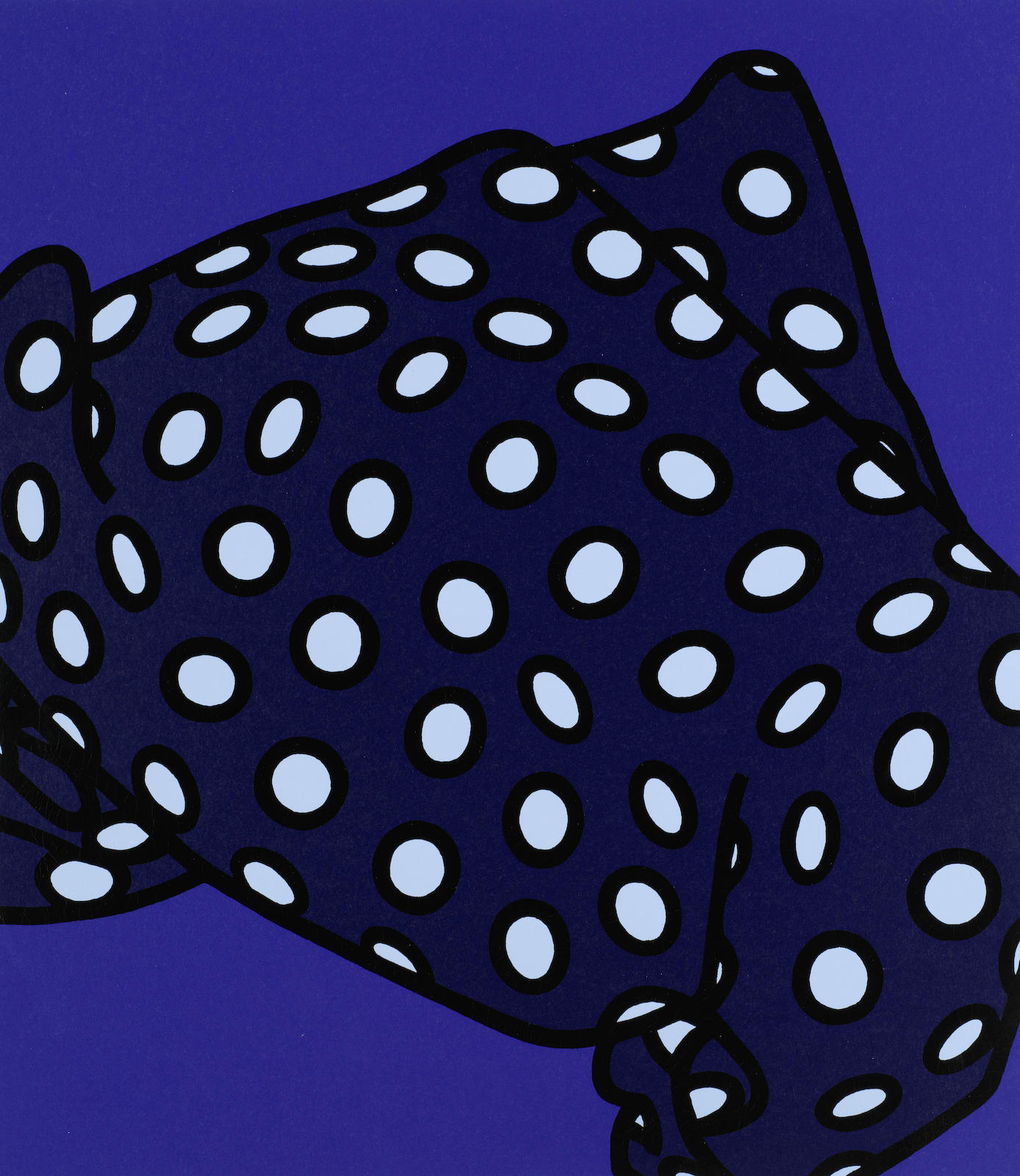 Patrick Caulfield-She'll have forgotten her scarf, from 'Some Poems of Jules Laforgue'-1973