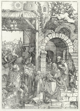 Albrecht Durer-The Adoration of the Magi, from the Life of the Virgin-1503