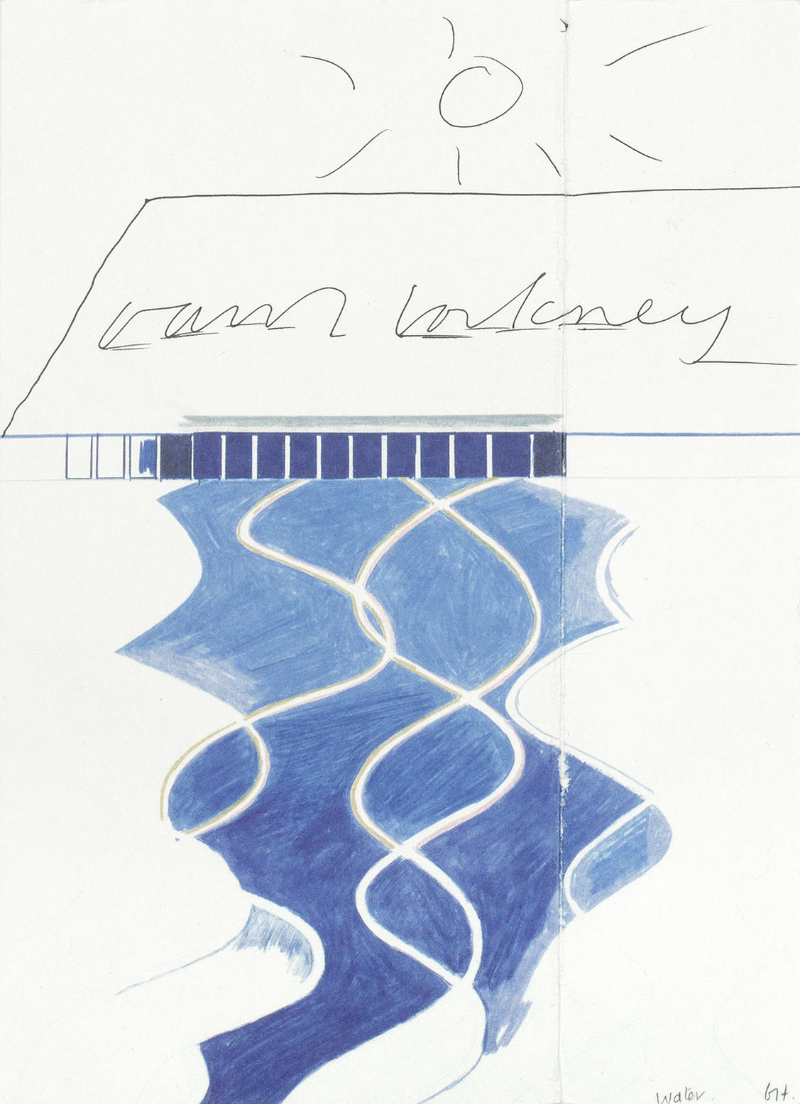 David Hockney-David Hockney - A Drawing Retrospective-1995