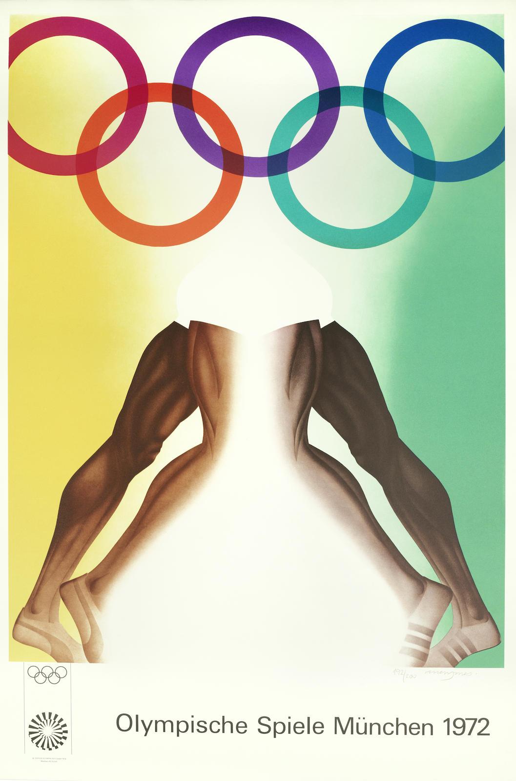 Allen Jones-Olympische Spiele Munchen 1972-1970