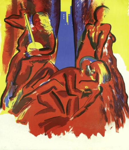 Allen Jones-After hours-1985
