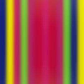Richard Paul Lohse-Vertikalen (Verticals) Portfolio No.1-1970