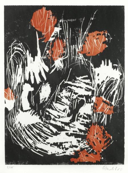 Georg Baselitz-Hand am Ohr-1985