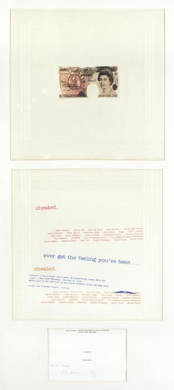Gavin Turk-£50 Note-2000