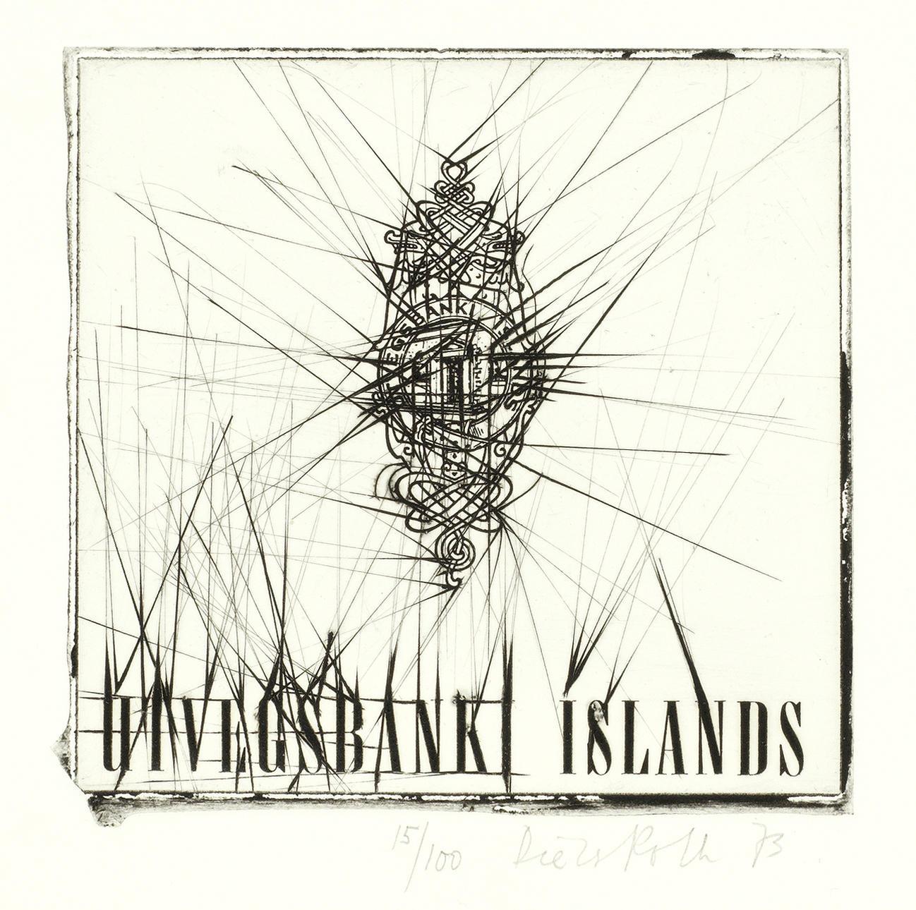 Dieter Roth-Utvegsbanki Islands-1973
