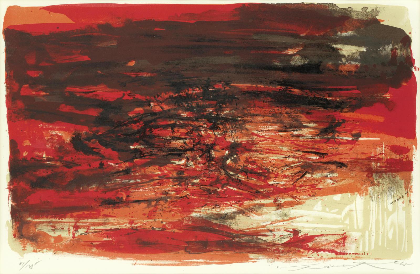 Zao Wou-Ki-Untitled-1965