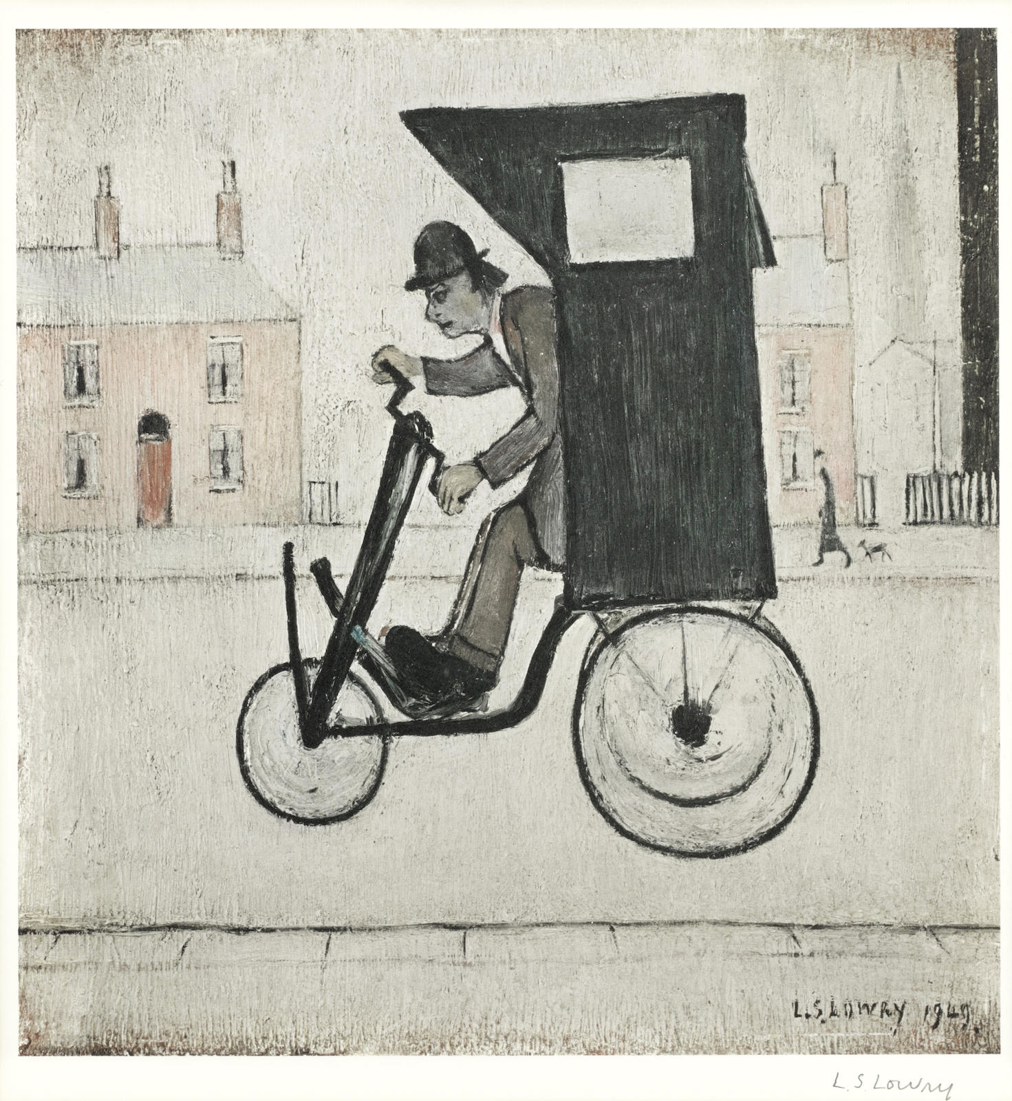 Laurence Stephen Lowry-The Contraption-1975