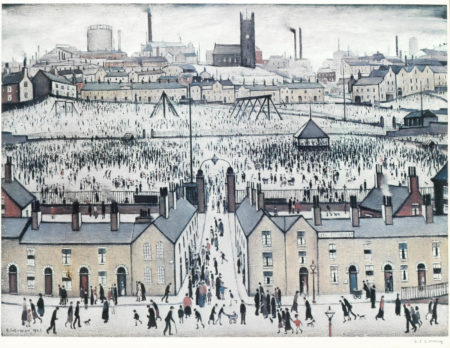 Laurence Stephen Lowry-Britain at Play-