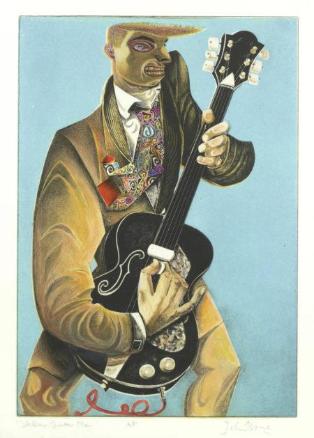John Byrne-Yellow Guitar Man; First Love-