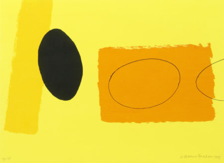 Wilhelmina Barns-Graham-Orange and Lemon playing games-1999