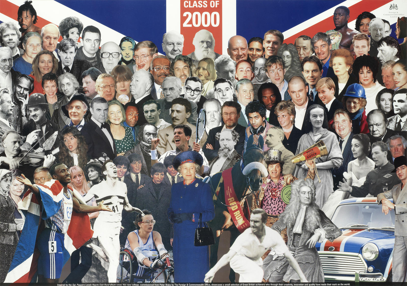 Peter Blake-Class of 2000 - Great British Achievers-2000