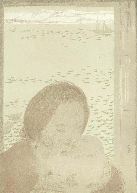 Maurice Denis-Maternite devant la mer-1900