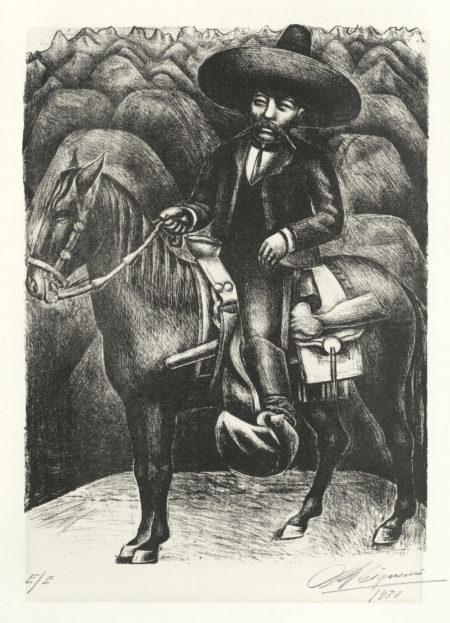 David Alfaro Siqueiros-Emilio Zapata-1930