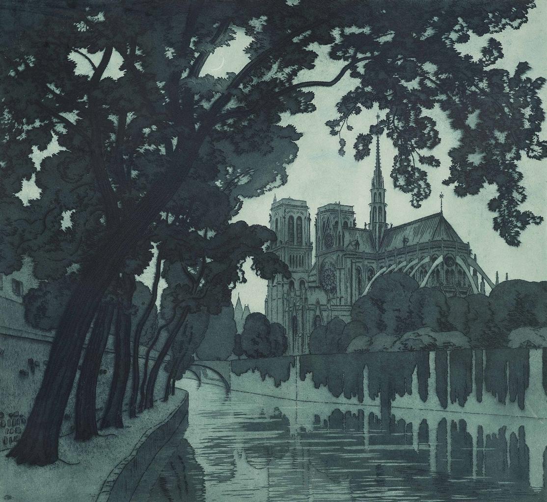 Claude Francis Barry-Notre Dame-1930