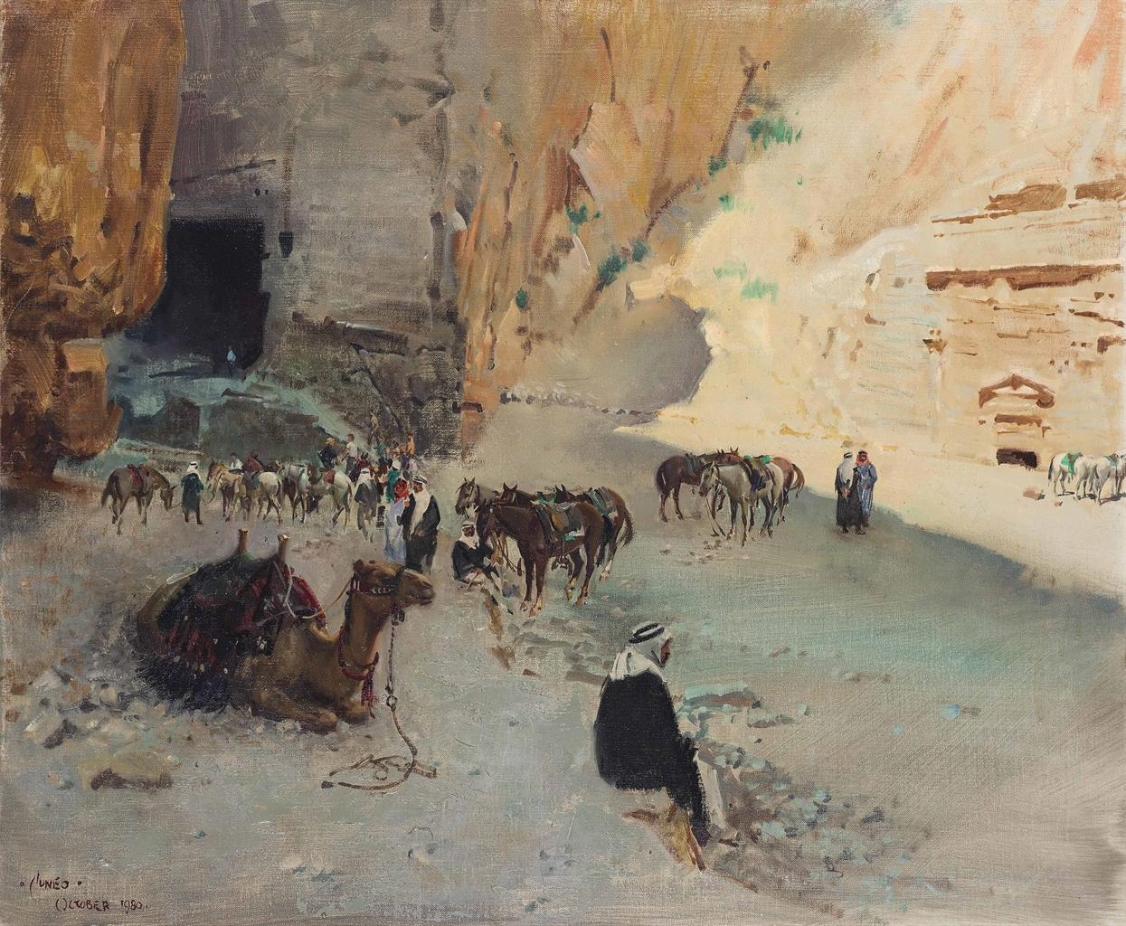Terence Cuneo-Petra, Jordan-1980