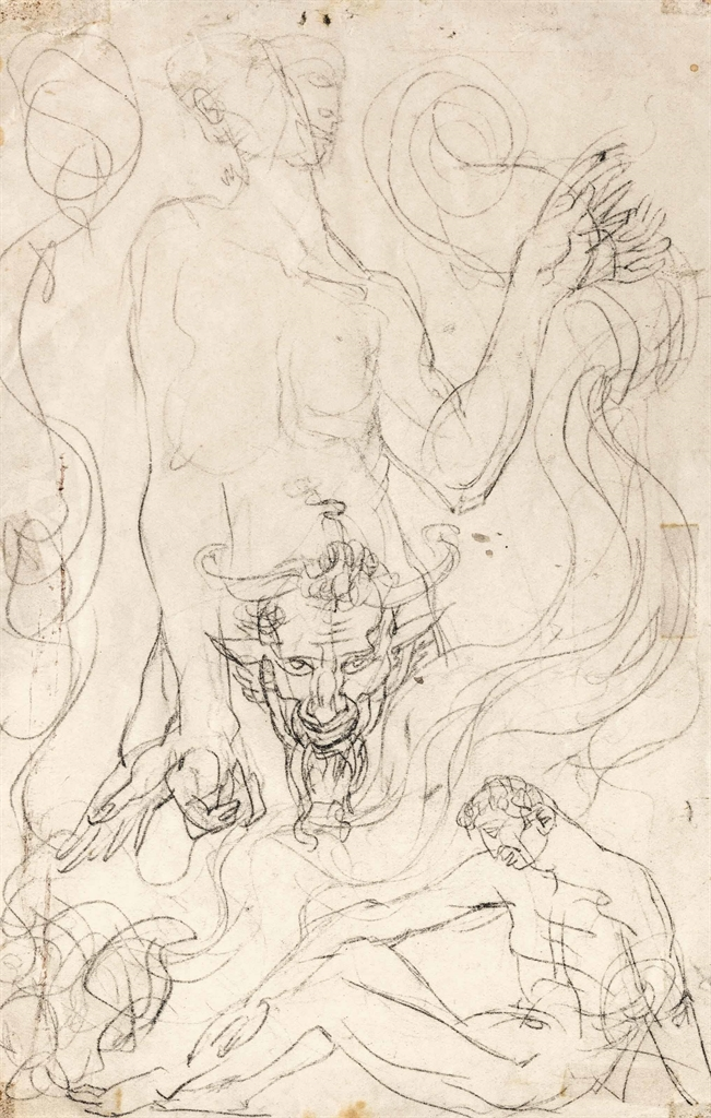 Austin Osman Spare-Inferno-1924