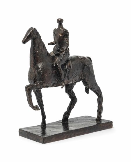 Robert Clatworthy-Horse and Rider-2007