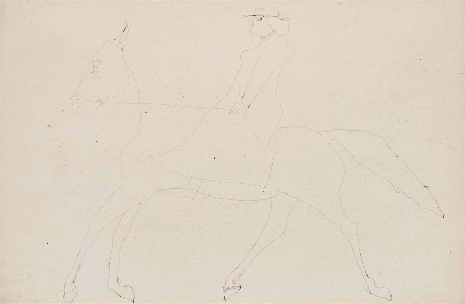 Henri Gaudier-Brzeska-Rotten Row-