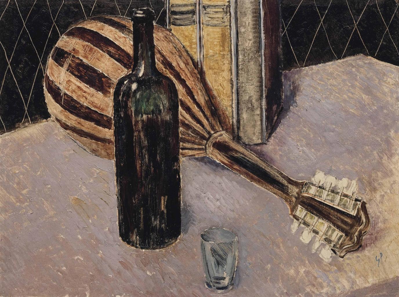 Glyn Warren Philpot-Still-life with Mandolin-1934
