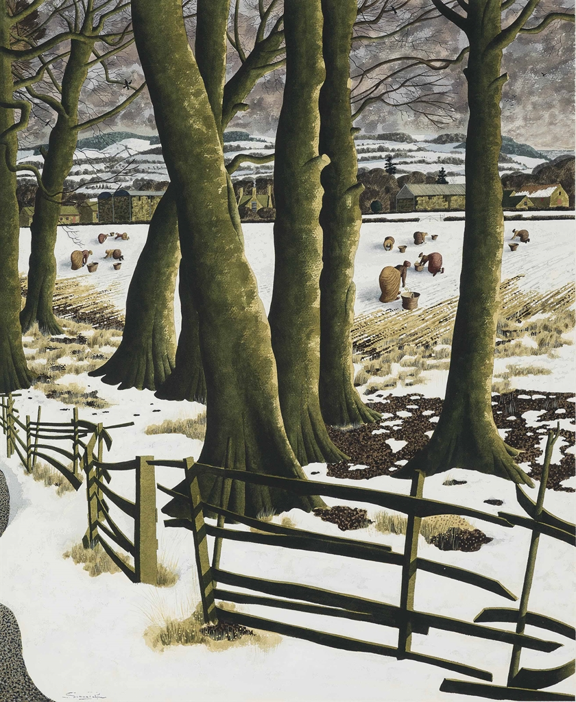 Simon Palmer-Harvesting Snow-1995