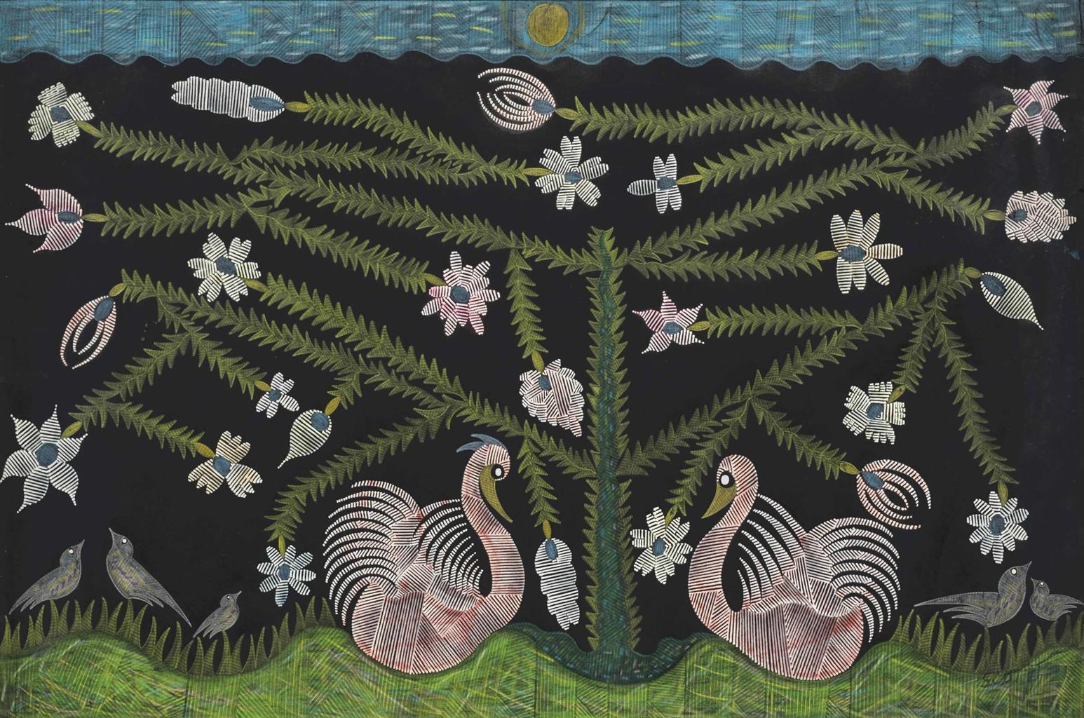 Scottie Wilson-The Lovebirds-
