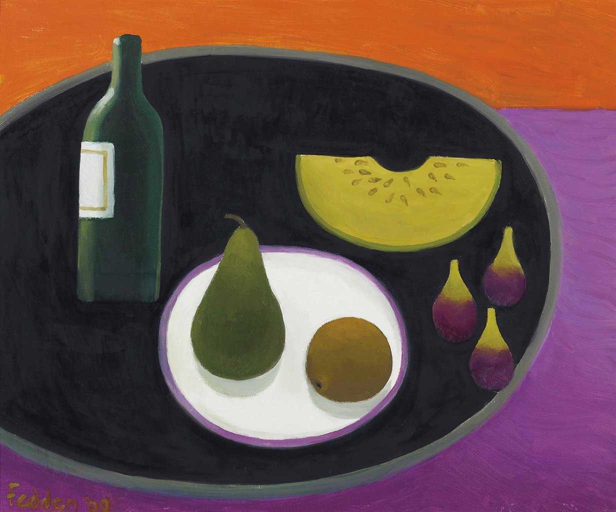 Mary Fedden-Three Figs-2009