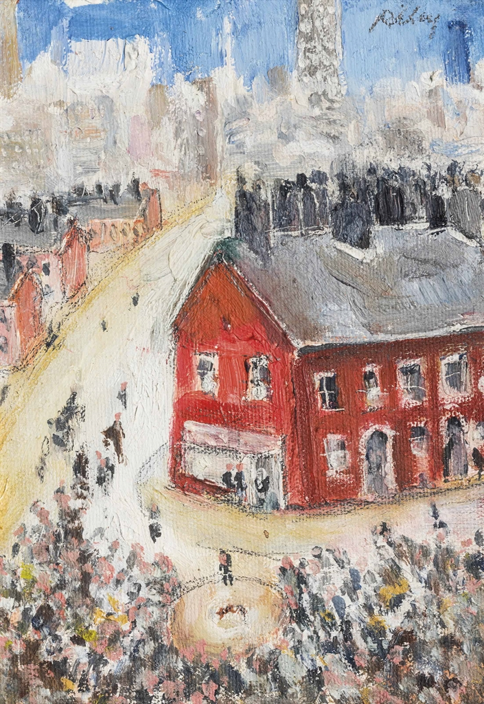 Harold Riley-The Red House-1960