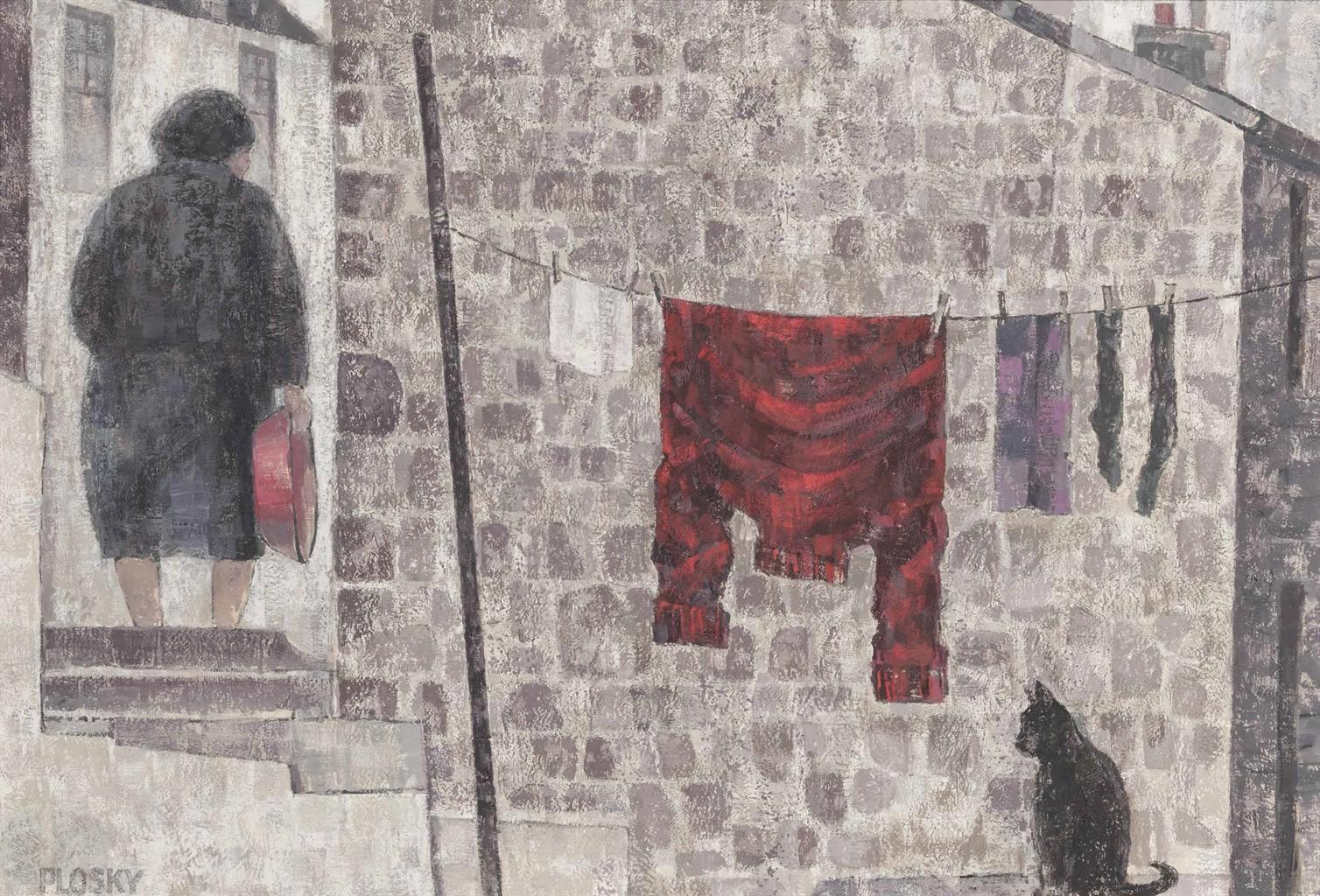 Jonas Plosky-The Red Jersey-