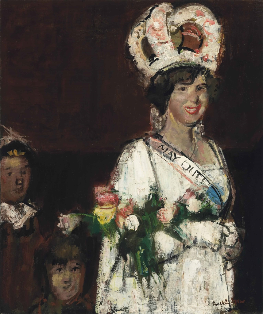 Ruskin Spear-The May Queen-